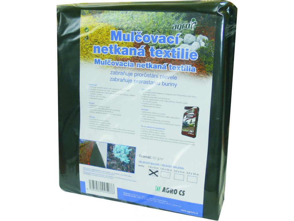Mulčovací netkaná textilie 45 g/m²