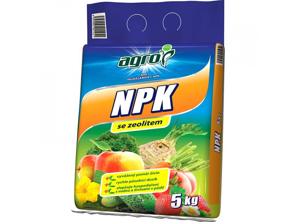 AGRO Univerzální hnojivo NPK se zeolitem