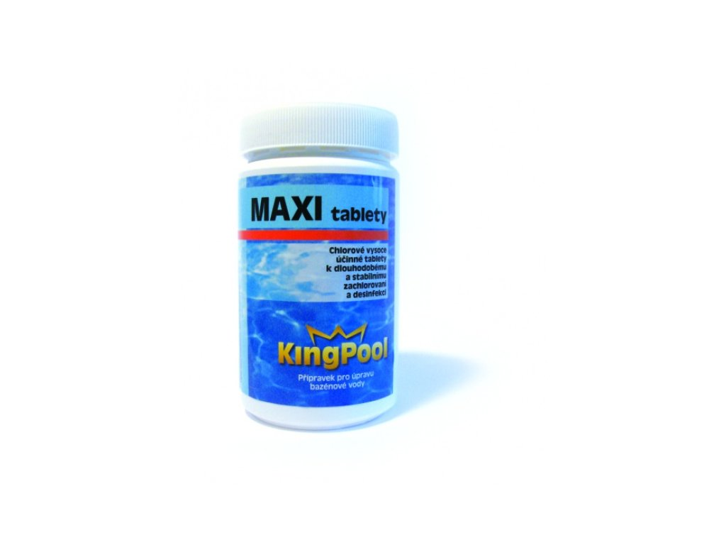 Kingpool chlorové MAXI tablety 1 kg