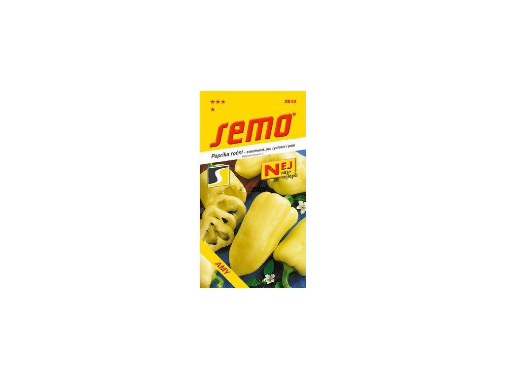 SEMO Paprika roční - zeleninová, pro rychlení i pole AMY
