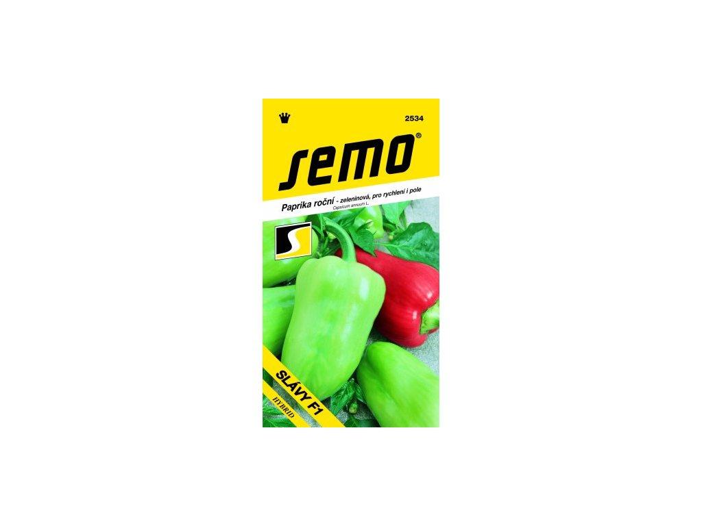 SEMO Paprika roční - zeleninová, pro rychlení i pole SLÁVY F1