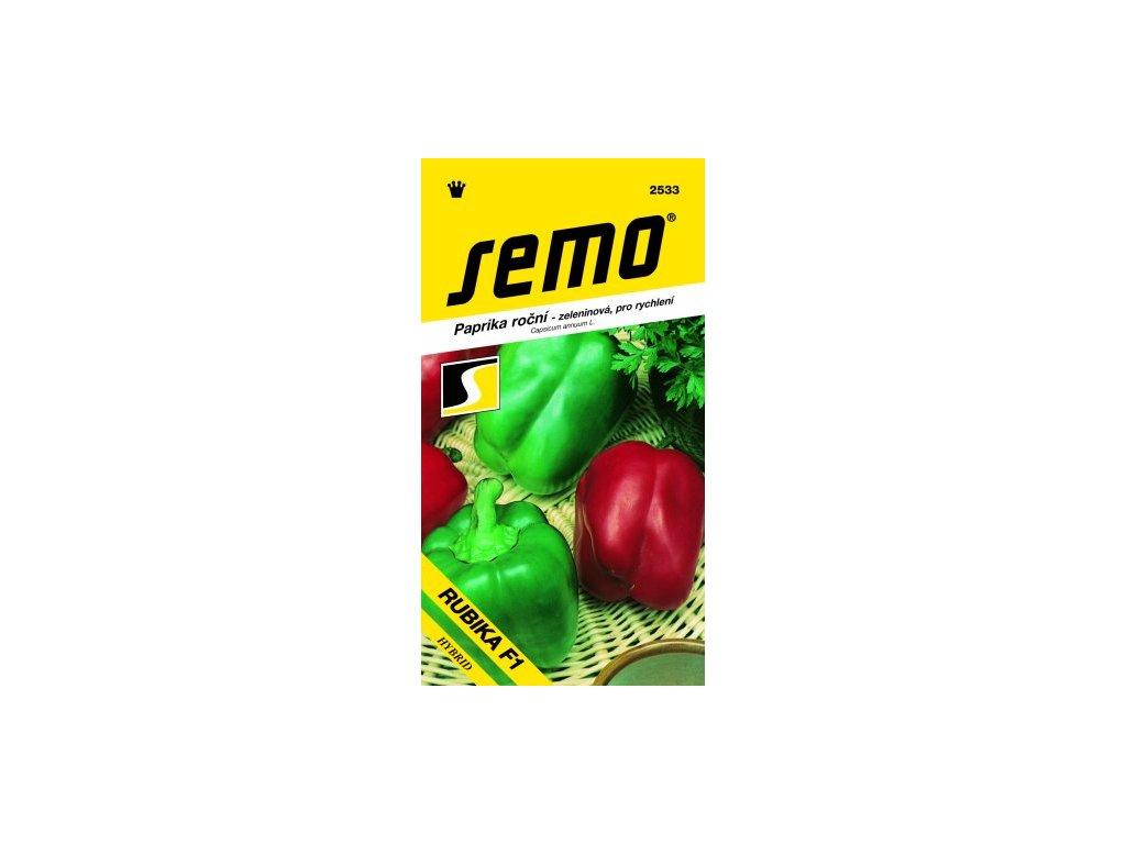 SEMO Paprika roční - zeleninová, pro rychlení RUBIKA F1