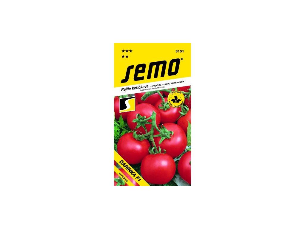 SEMO Rajče keříčkové - pro přímí konzum, skladovatelné DARINKA F1