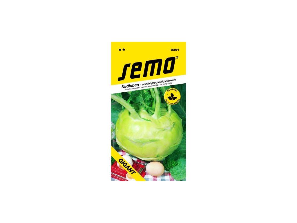 SEMO Kedluben - pozdní pro polní pěstování GIGANT