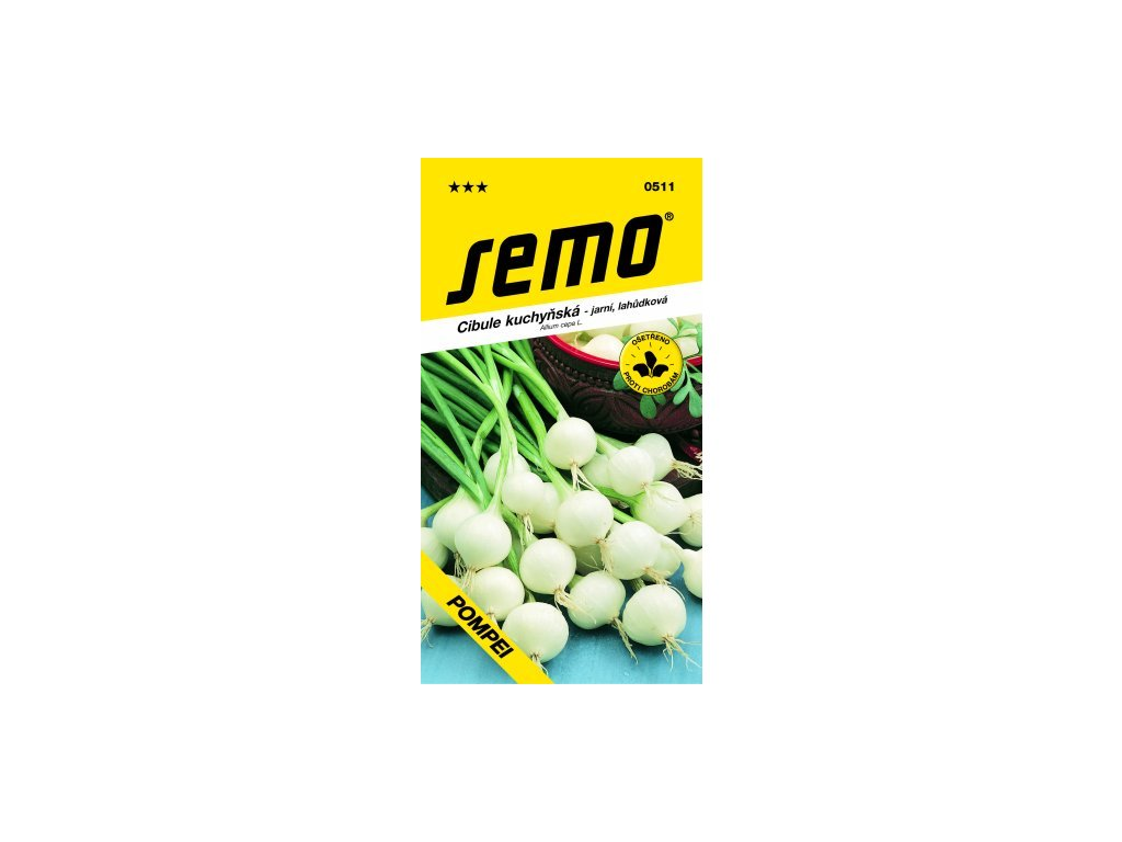 SEMO Cibule kuchyňská - jarní, lahůdková POMPEI