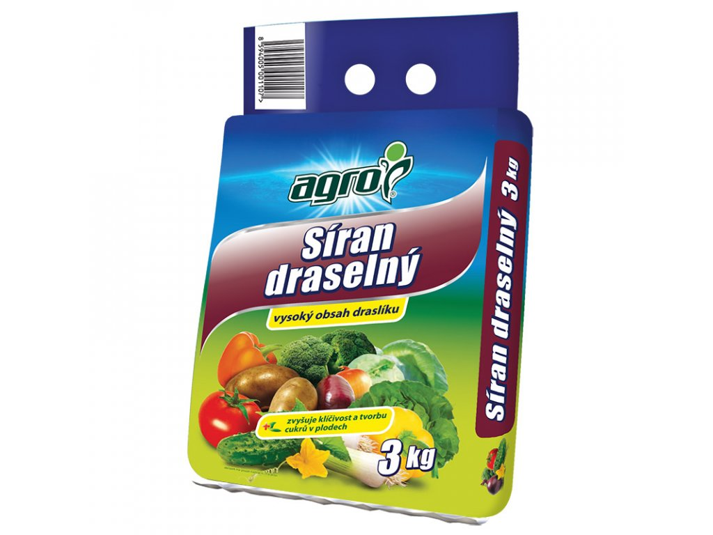 000337 AGRO Siran draselny 3kg 8594005001107