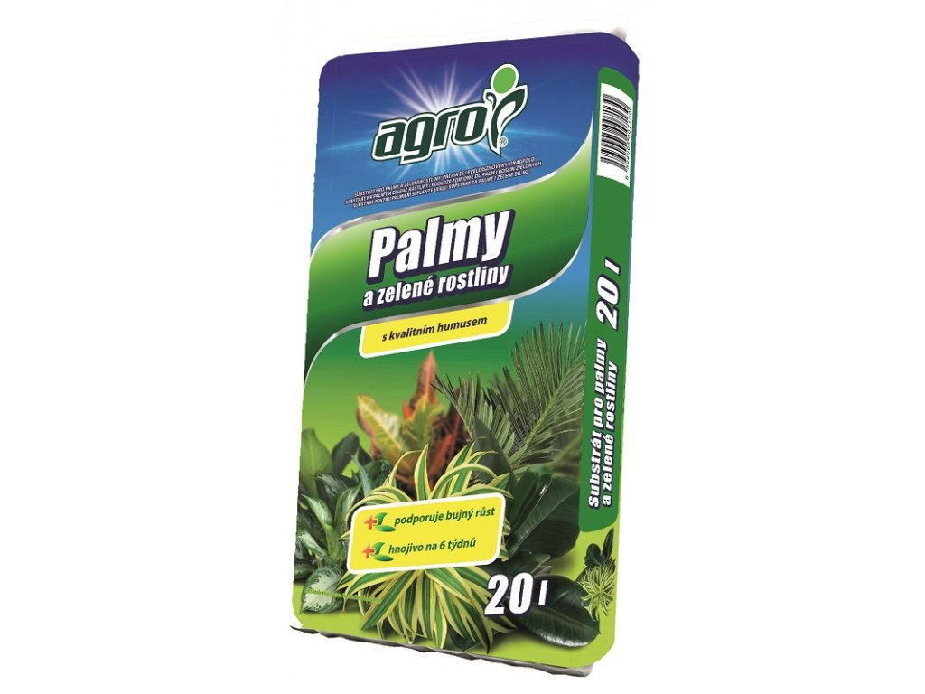 00114A AGRO Substrat pro palmy 20l 8594005007130