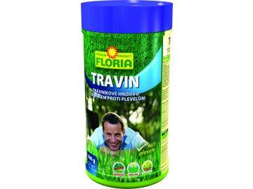 FLORIA - TRAVIN trávníkové hnojivo s účinkem proti plevelům 3v1