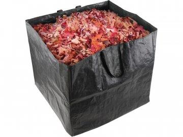 Koš na listí a zahradní odpad, 60x60x55cm, 200L, 2 držadla, PE, EXTOL CRAFT