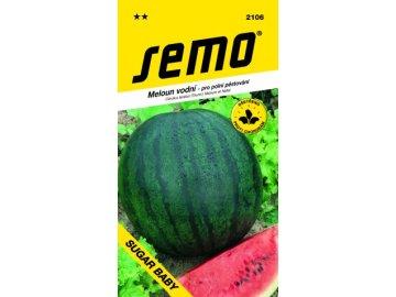 SEMO Meloun vodní - pro polní pěstování SUGAR BABY