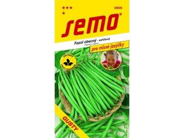 SEMO Fazol obecný - keříčkový GUSTY pro mlsné jazýčky