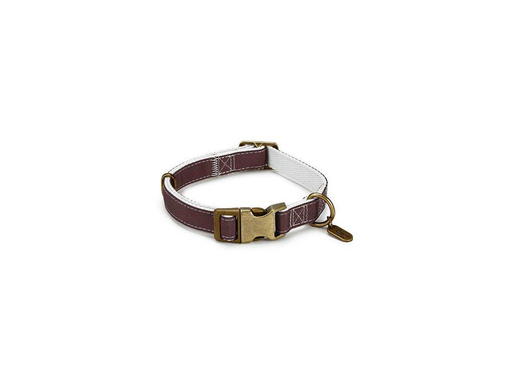 DBL Nylonový obojek pro psy hnědý Virante
