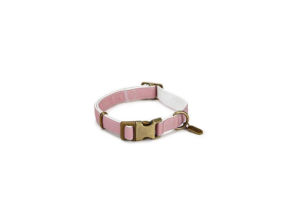 DBL Nylonový obojek pro psy růžový Virante