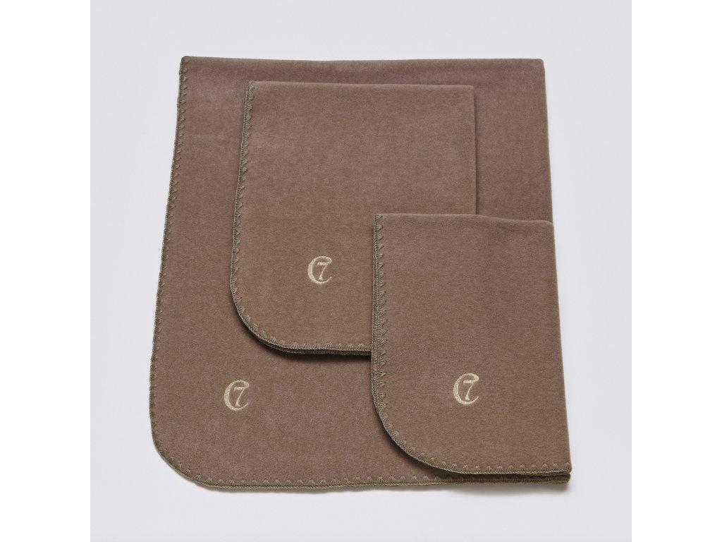03 07 C7 Dog Blanket Fleece Sand SML SCREEN