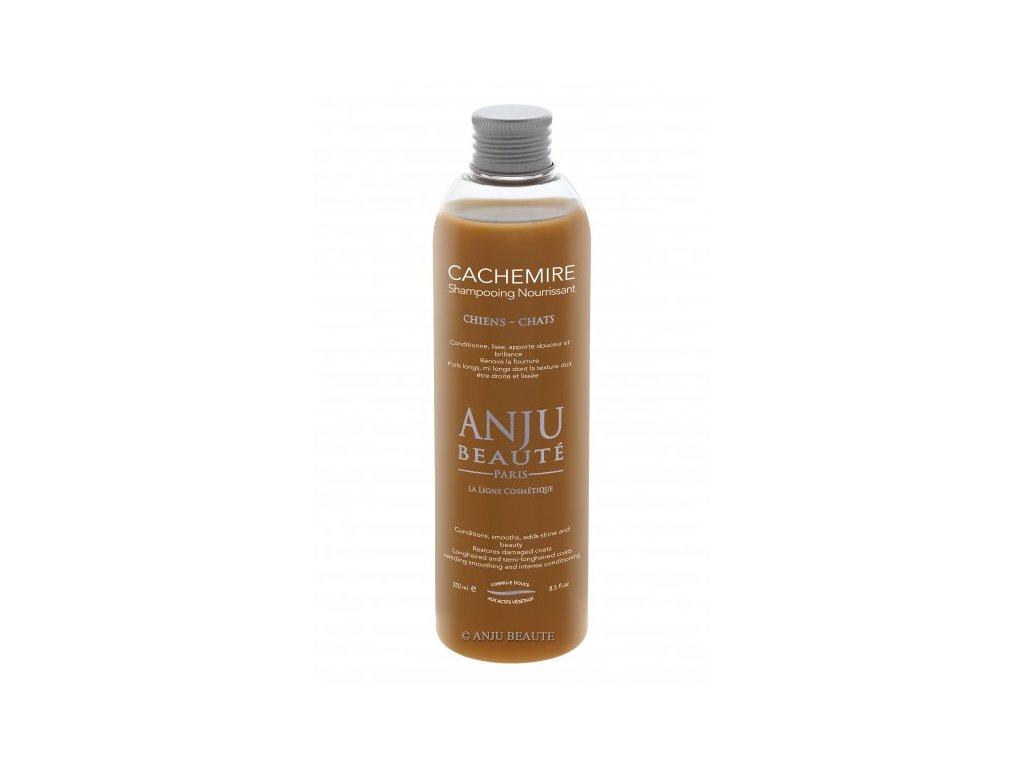 Šampon pro psy a kočky pro péči o dlouhou srst Anju Beauté Cachemire 250 ml