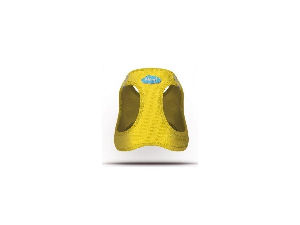 Postroj pro psy a kočky Curli vest Air-Mesh žlutý
