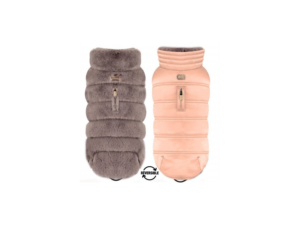 Oboustranný kabát pro psy Enya