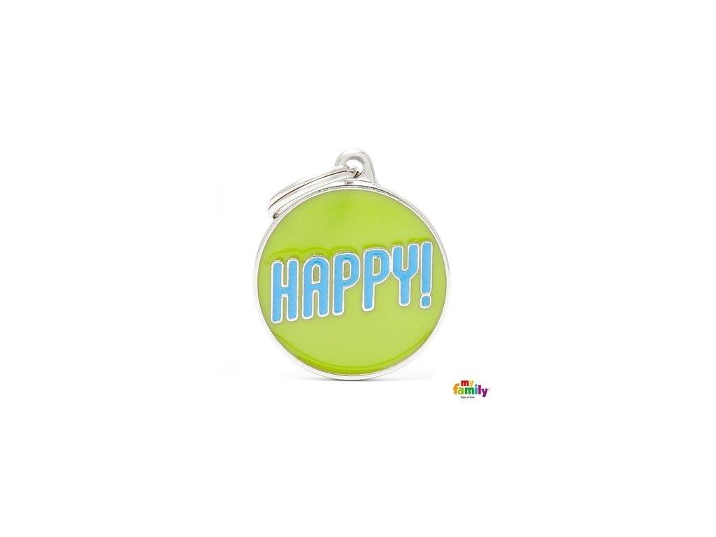 Psí známka Happy