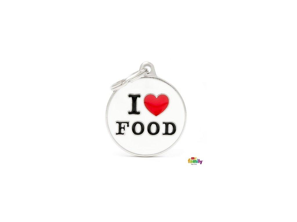 Psí známka I LOVE FOOD