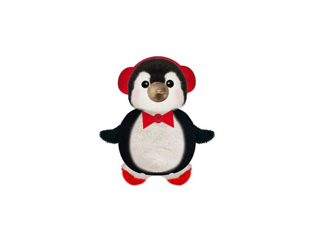 Plyšový tučňák pro psy