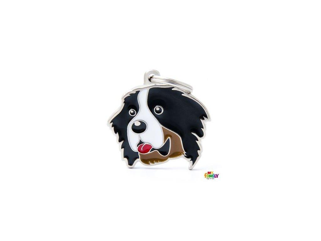 Psí známka MY FAMILY Bernský salašnický pes
