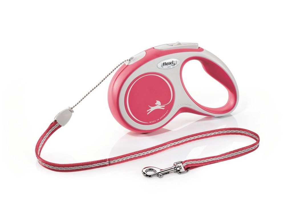 Flexi vodítko Comfort červené S 5m