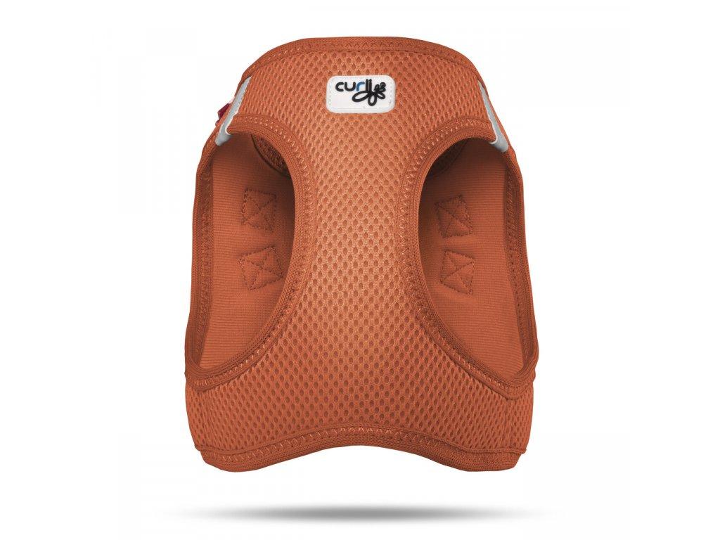 0101 0202 1 200 FRNT 01 Vest Harness Air Mesh Orange Adobe RGB 240PPI 2000x2000