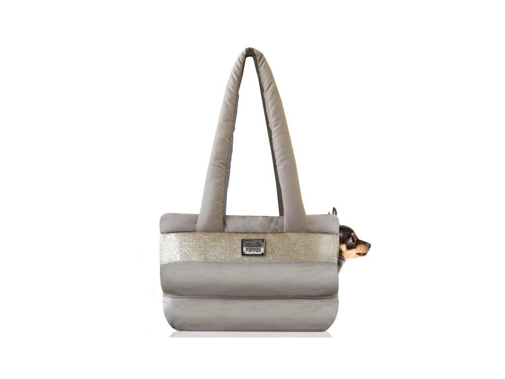 Cestovní taška pro psy Capsule Gold