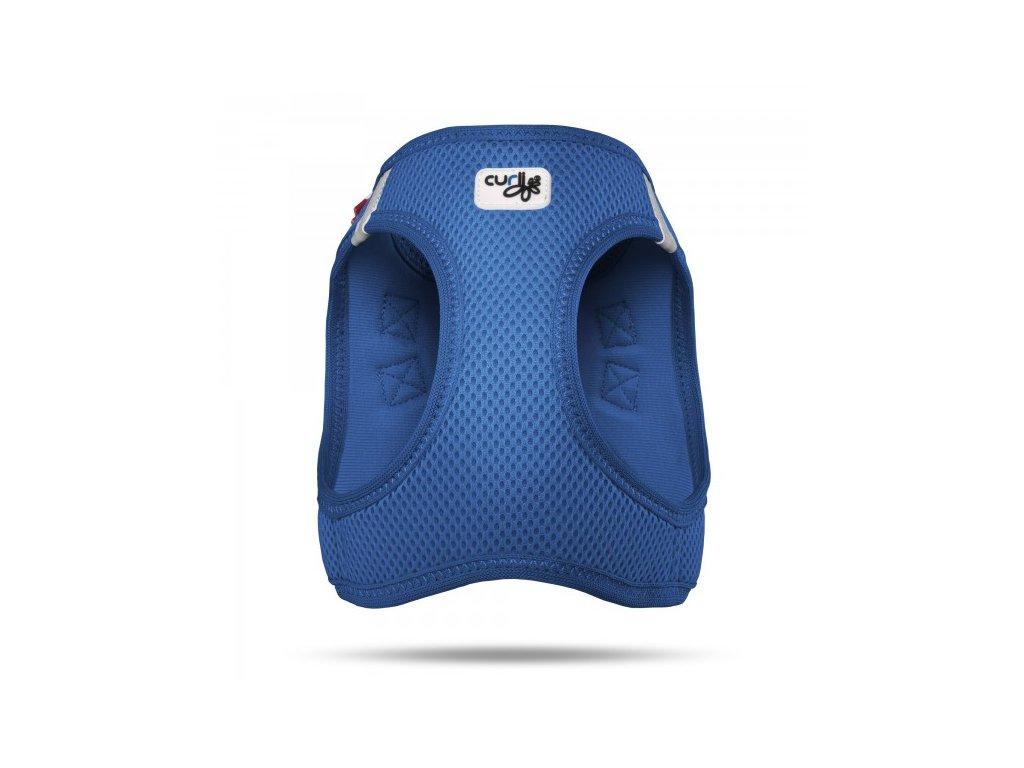 Postroj pro psy a kočky Curli Vest Air-Mesh modrý