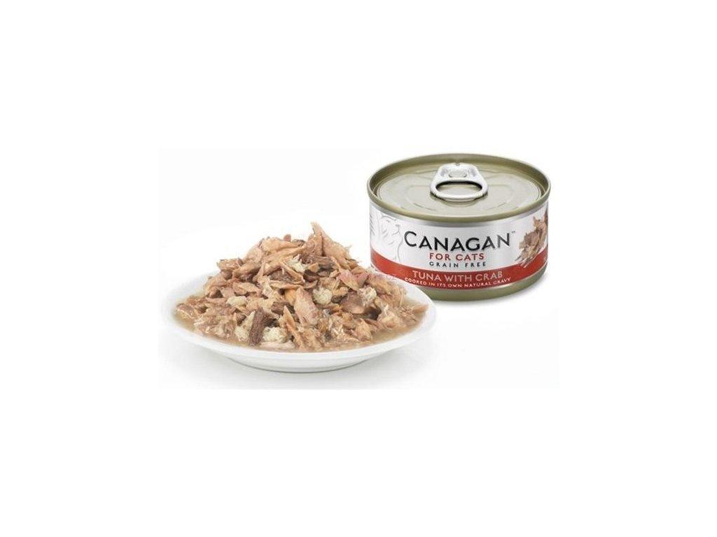 Canagan konzerva tuňák s krabem 75 g