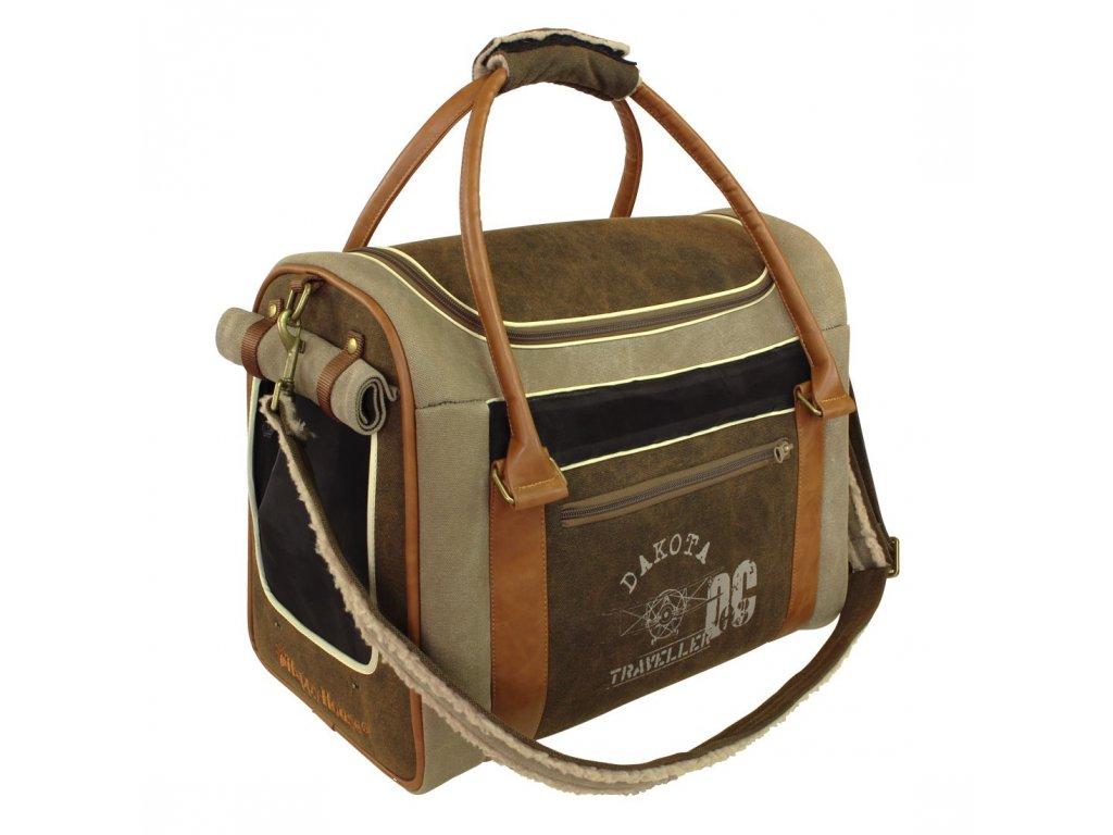 Cestovní taška pro psy Dakota do 6 kg