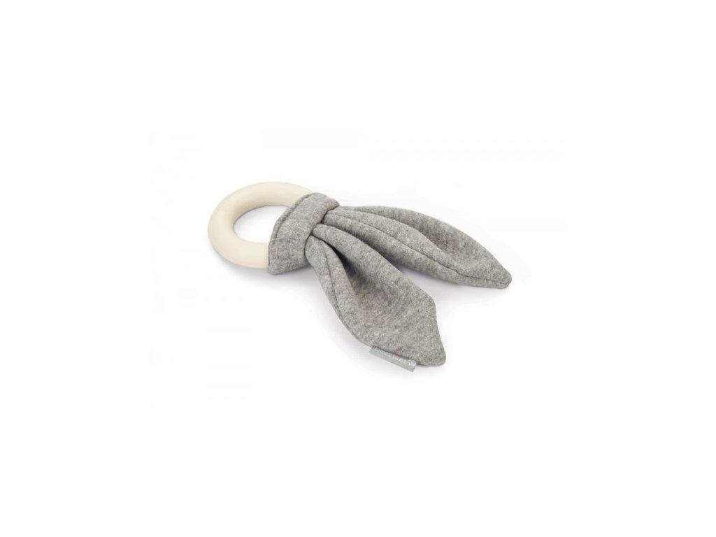 Žvýkací kroužek BEEZTEES Juwa šedý