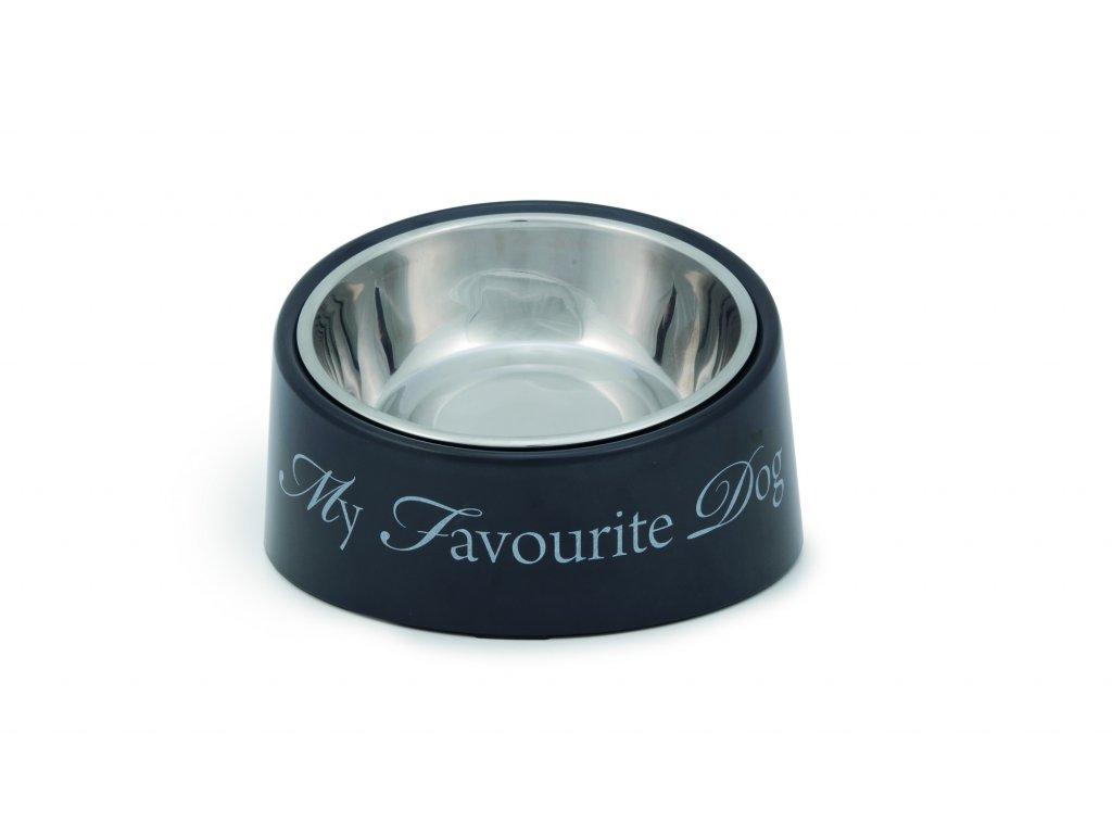 DBL Miska pro psy My Favourite Dog šedá