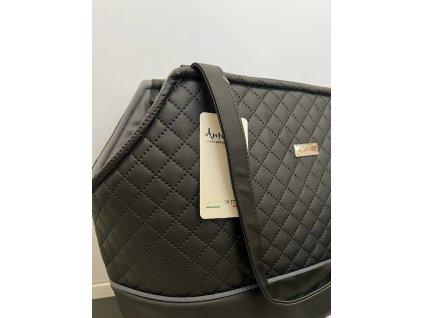 Cestovní taška pro psy Anteprima Agata černá