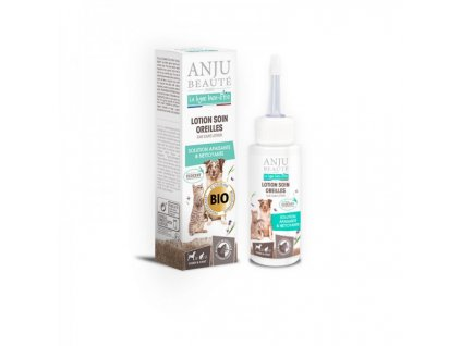 Přípravek do uší pro psy a kočky Anju Beauté