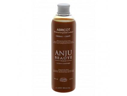 Šampon pro psy a kočky pro oživení krémové srsti Anju Beauté Abricot 250 ml