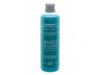Šampon pro psy a kočky pro světlé odstíny srsti Anju Beauté Diamant 250 ml
