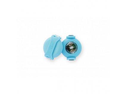 Bezpečnostní světýlka pro psy Luumi modré 2ks