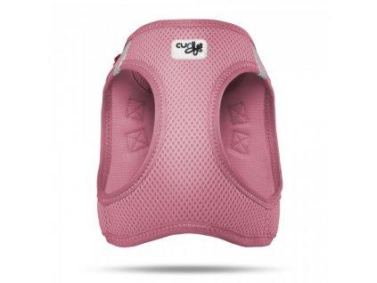 Postroj pro psy a kočky Curli Vest Air-Mesh růžový