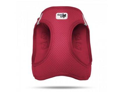 Postroj pro psy a kočky Curli Vest Air-Mesh červený