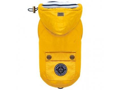 Milkandpepper Babord pláštěnka pro psy žlutá