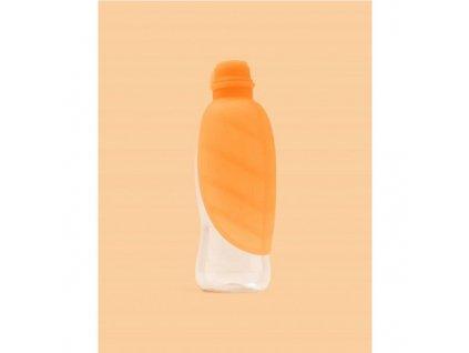Cestovní láhev pro psy oranžová 500 ml