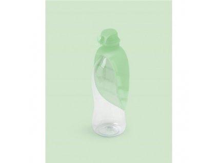 Cestovní láhev pro psy zelená 500 ml