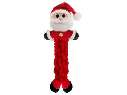 Provazcová hračka Santa Claus pro psy