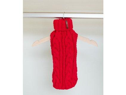 Paris svetr pro fenky a kočky červený