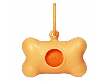 Bon Ton pouzdro na sáčky kost oranžová