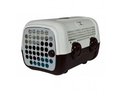 AUTO přepravka pro psy a kočky UNITED PETS  hnědo bílá