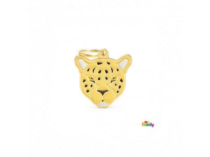 Známka pro psy a kočky MY FAMILY Leopard
