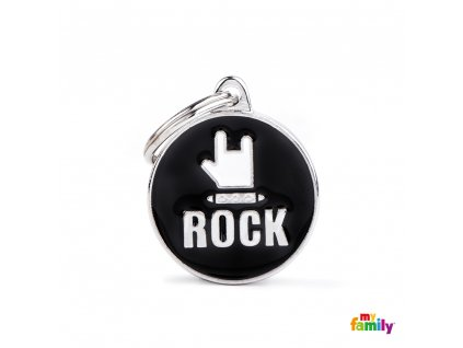 0029964 id tag medium circle rock
