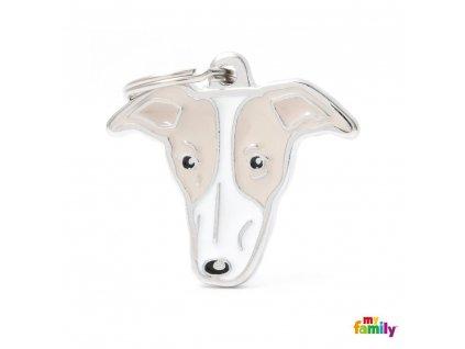 0029429 new greyhound id dog tag